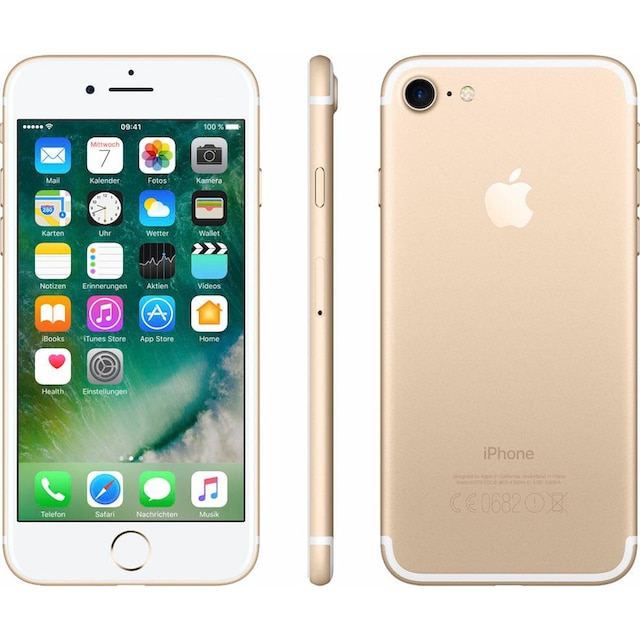 "Apple iPhone 7 4,7"" 32 GB Smartphone (11,9 cm / 4,7 Zoll, 32 GB, 12 MP Kamera)"