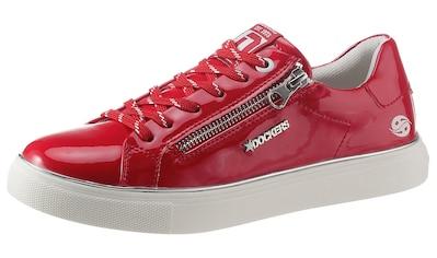 Dockers by Gerli Sneaker, aus glänzendem Lacklederimitat kaufen