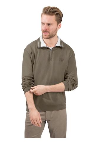 Marco Donati Sweatshirt in hochwertiger Interlock - Qualität kaufen