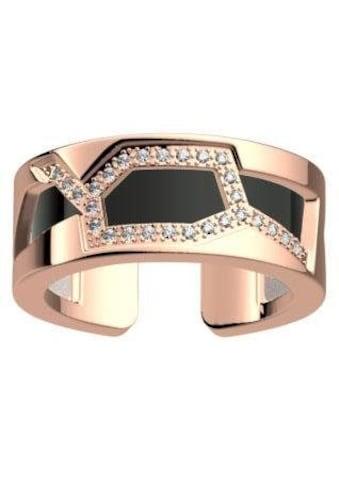 Les Georgettes Ring-Set »GIRAFFE ROTGOLD-ZIRKONIA, 8 mm, schwarz-weiss, GIRR8SZ-M4,... kaufen