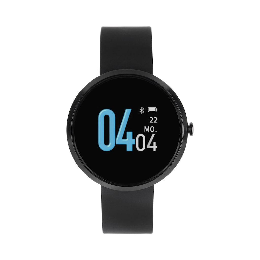 X-Watch Smartwatch »SIONA COLOR FIT« (, Die smarte Fitnessuhr für die modebewusste Frau