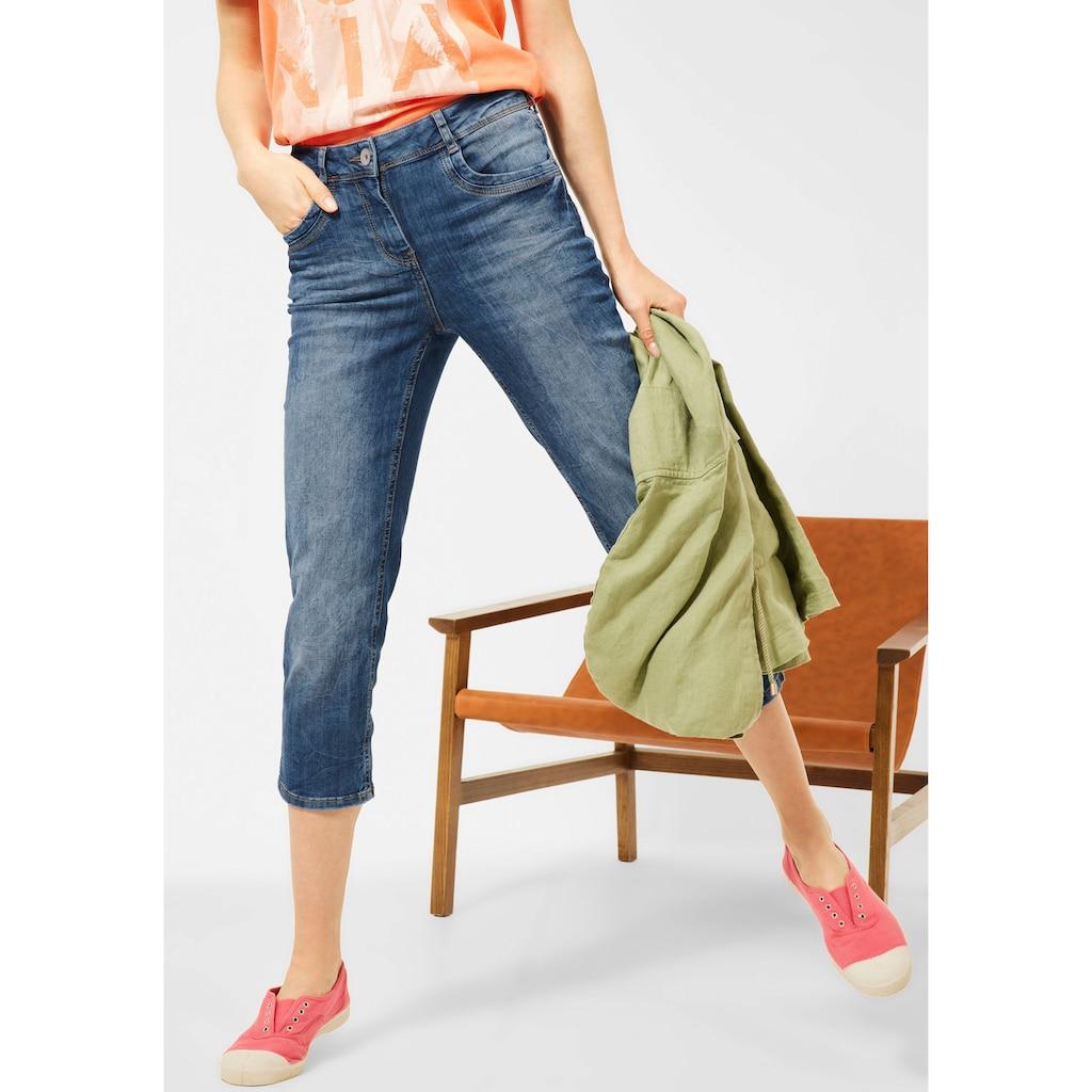 Cecil 3/4-Jeans »Style Toronto«, in Strech-Qualität