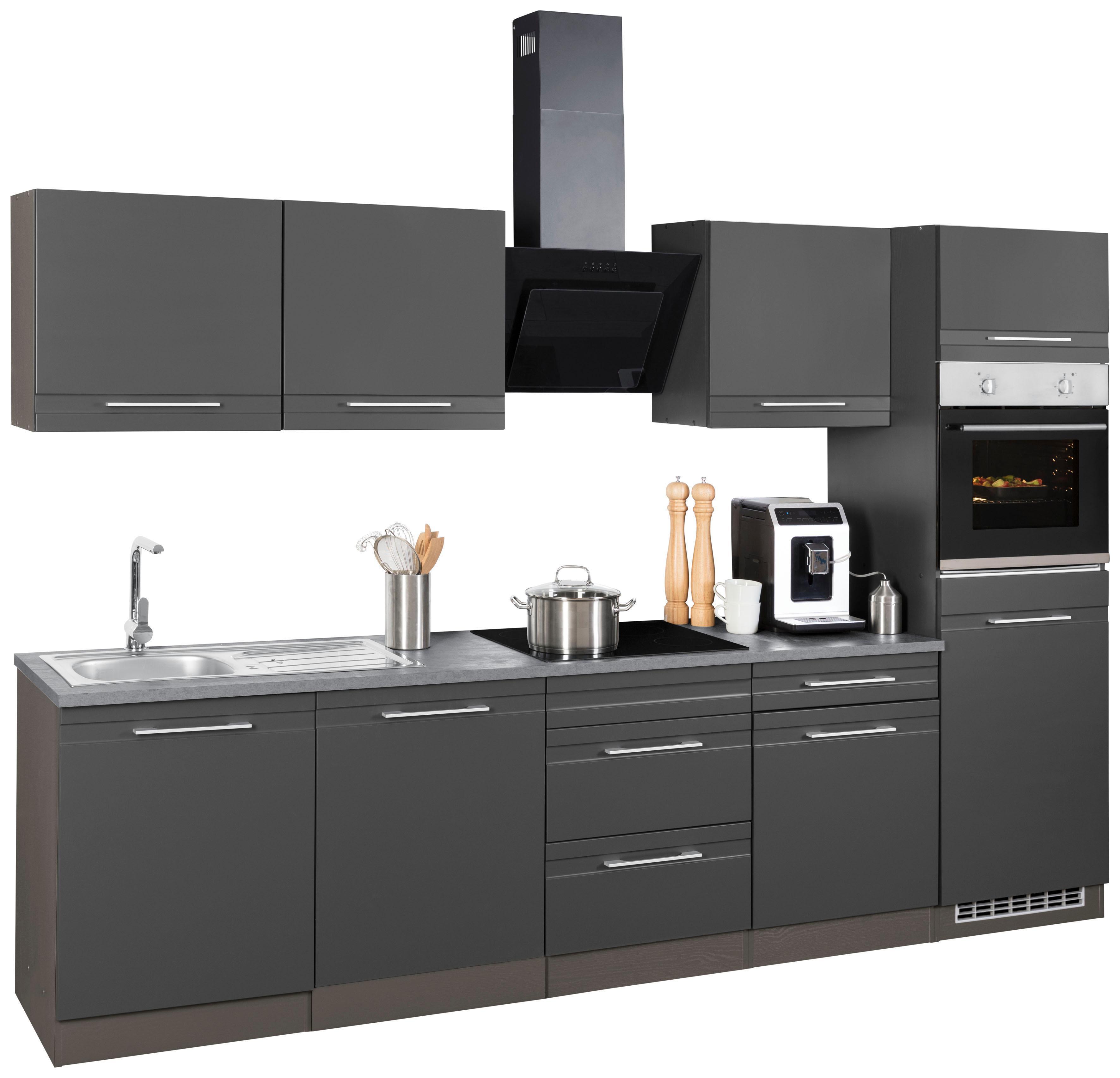 Held Möbel Küchenzeile Ohne E Geräte Mito Breite 300 Cm Moebel