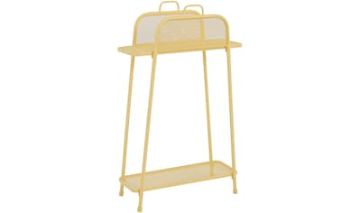 GARDEN PLEASURE Regal »Shelfo«, Metall, 65,5x27x105,5 cm, gelb kaufen
