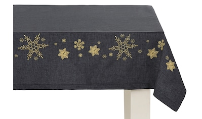 Dreams Tischdecke »Schneeflocke«, mit aufwendiger Stickerei kaufen