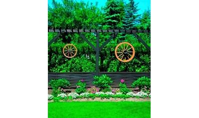 promadino Gartenfigur, »Wagenrad mittel« kaufen
