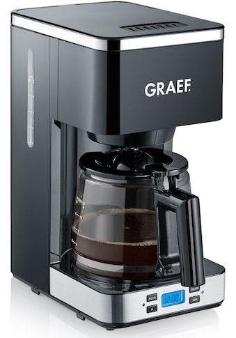 Graef Filterkaffeemaschine FK 502 mit Timer und Glaskanne, Korbfilter 1x4 kaufen