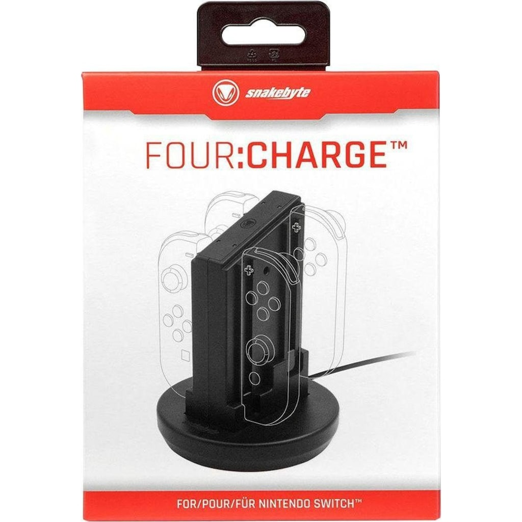 Snakebyte Controller-Ladestation »Four:Charge™«