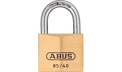 ABUS Vorhängeschloss »85/40 B/SB«, automatischer Bügelverriegelung und Präzisionsstiftzylinder kaufen