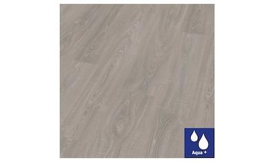 EGGER Laminat »HOME Aqua+ Toscolano Eiche grau«, wasserbeständig, 1,994 m²/Pkt., Stärke: 8 mm kaufen