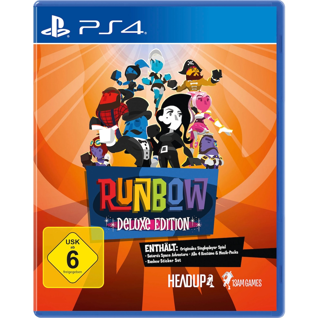 PlayStation 4 Spiel »Runbow Deluxe Edition«, PlayStation 4