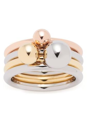 LEONARDO Ring-Set »Set/3 Ring Sfera, 019648, 019649, 019650«, (Set, 3 tlg.) kaufen