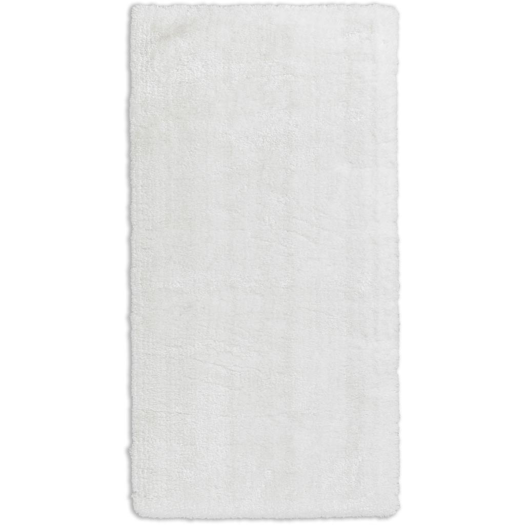 SCHÖNER WOHNEN-Kollektion Hochflor-Teppich »Heaven«, rechteckig, 50 mm Höhe, Wunschmass, weich durch Microfaser, Wohnzimmer