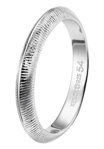 XENOX Silberring »LEAF, XS1892/52, XS1892/54, XS1892/56, XS1892/58« kaufen