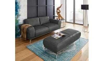 W.SCHILLIG 2-Sitzer »montanaa«, mit Metallfüßen in Chrom glänzend, Breite 192 cm kaufen