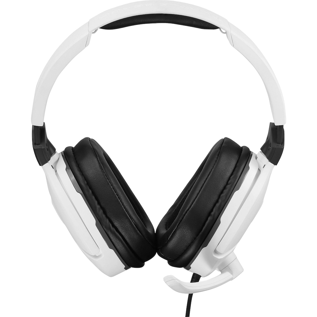 Turtle Beach Gaming-Headset »Recon 200«, Mikrofondesign: Fixiertes, durch Hochklappen stummschaltbares Kugelmikrofon, 40-mm-Lautsprecher
