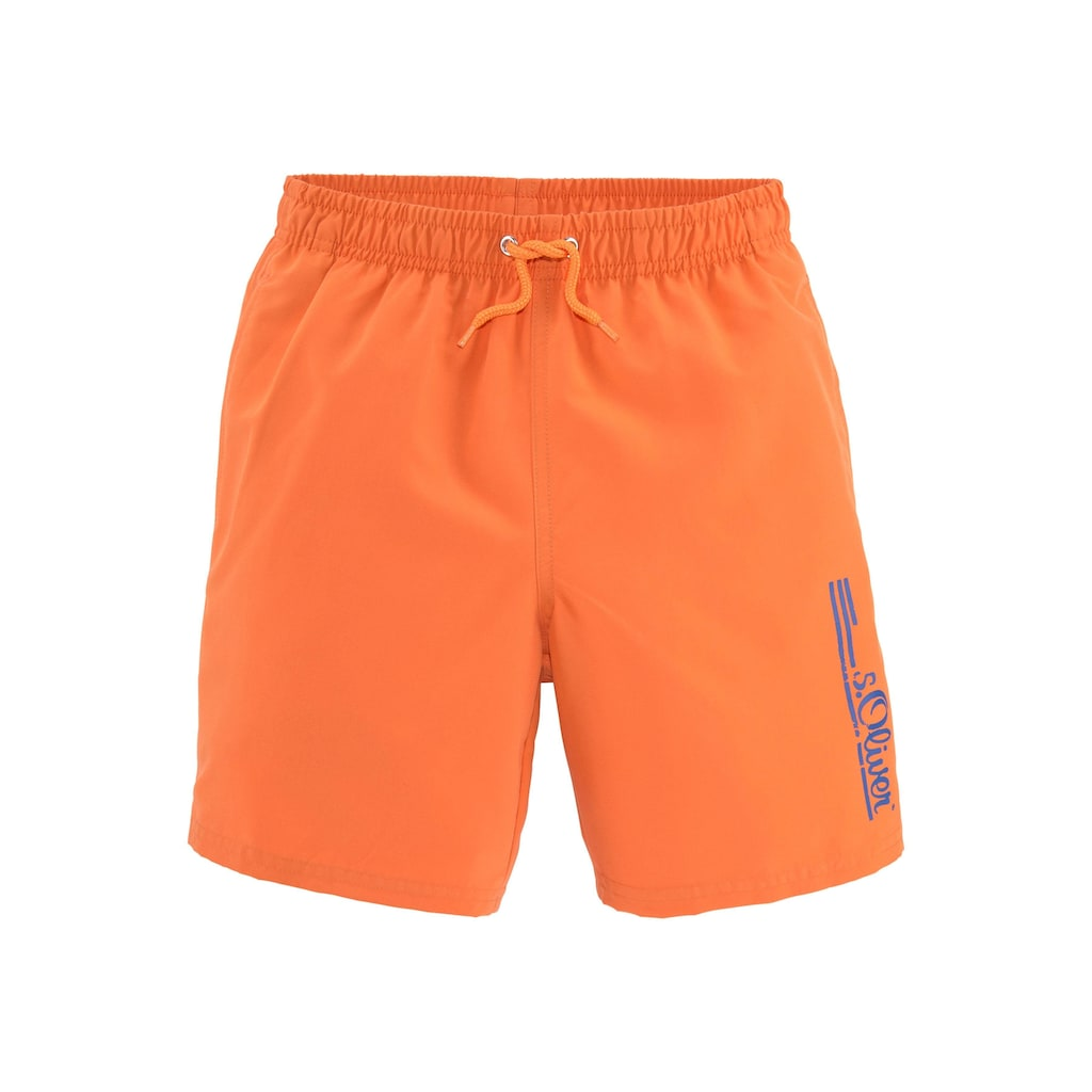 s.Oliver Beachwear Badeshorts, im schlichten Design