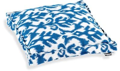 H.O.C.K. Sitzkissen »Gorsay blue No 16«, mit tollem Muster kaufen