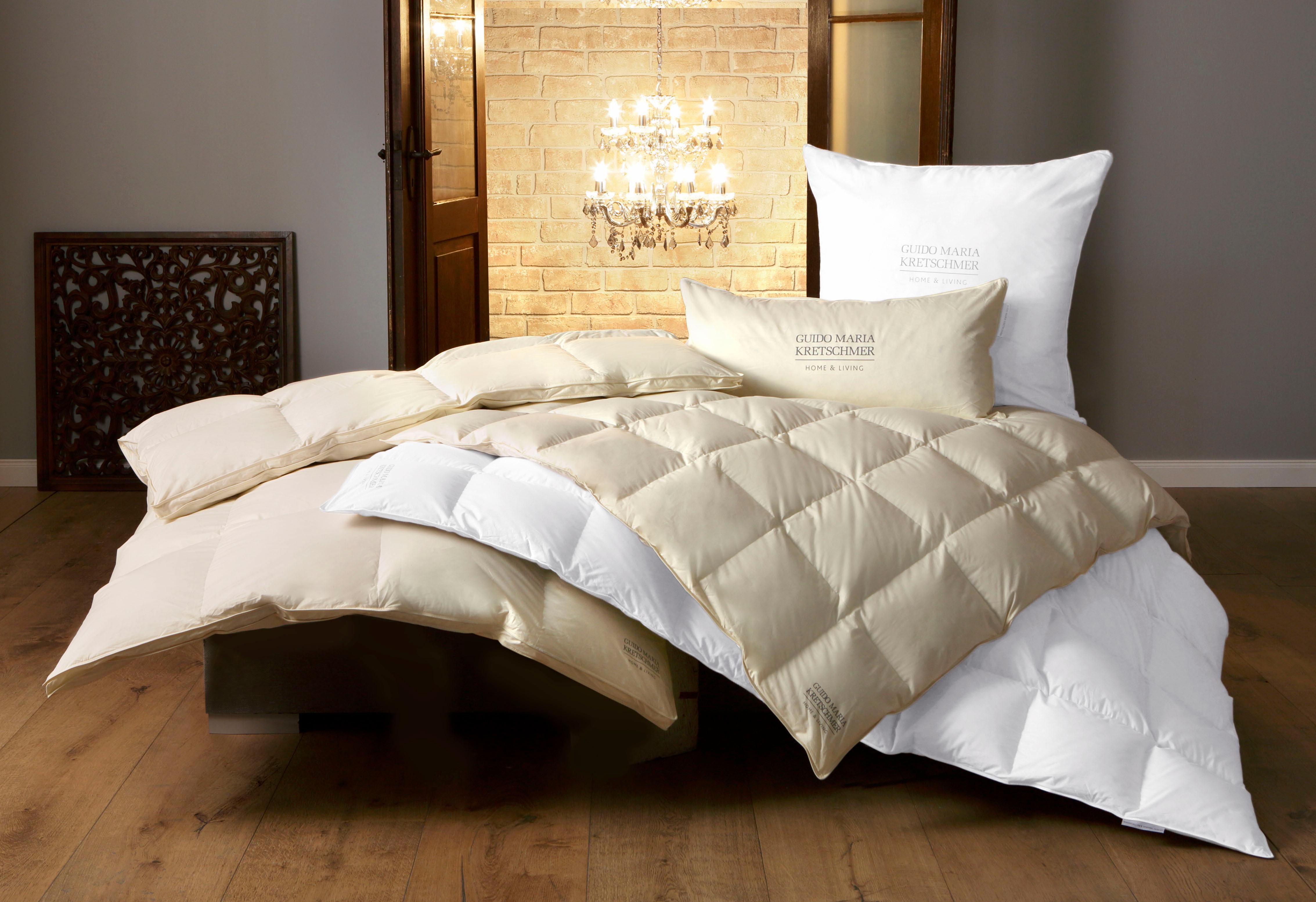 Daunenbettdecke GMK Guido Maria Kretschmer Home&Living normal Füllung: 90% Daunen 10% Federn Bezug: 100% Baumwolle