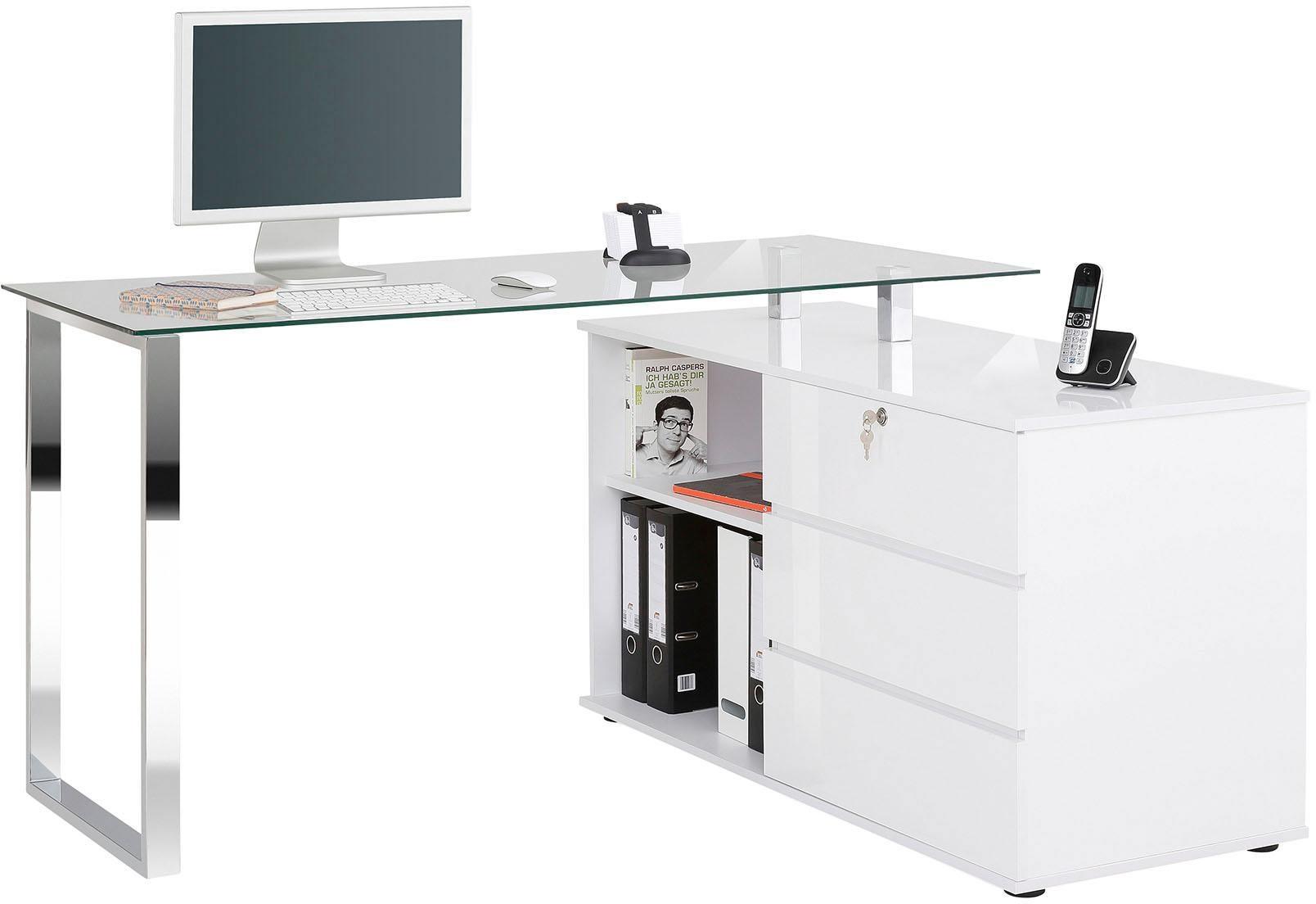 Glas Metall Schreibtische Online Kaufen Möbel Suchmaschine