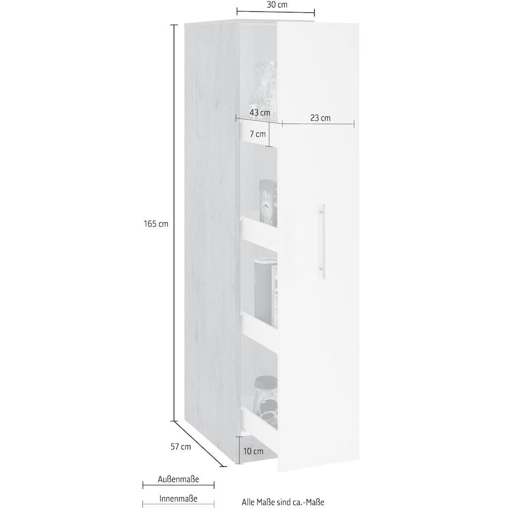 wiho Küchen Apothekerschrank »Aachen«