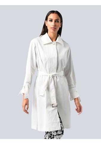 Alba Moda Trenchcoat, mit kleinen Schleifen am Ärmel kaufen