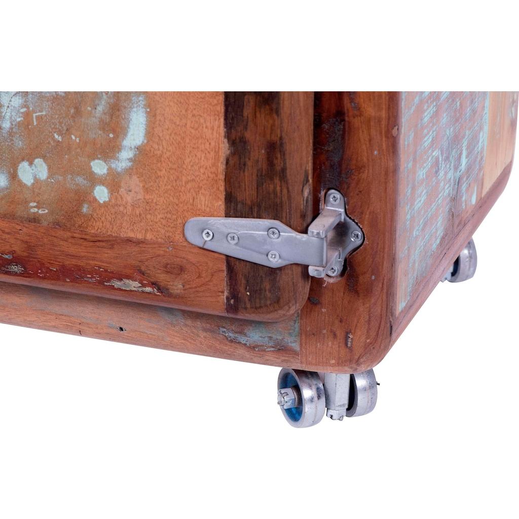 SIT Garderobenschrank »Fridge«, mit Kühlschrankgriffen, Shabby Chic, Vintage