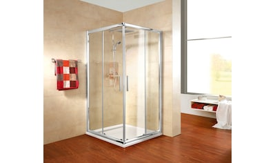 SCHULTE Sparset: Eckeinstieg »Kristall Trend«, BxT: 90 x 90 cm kaufen