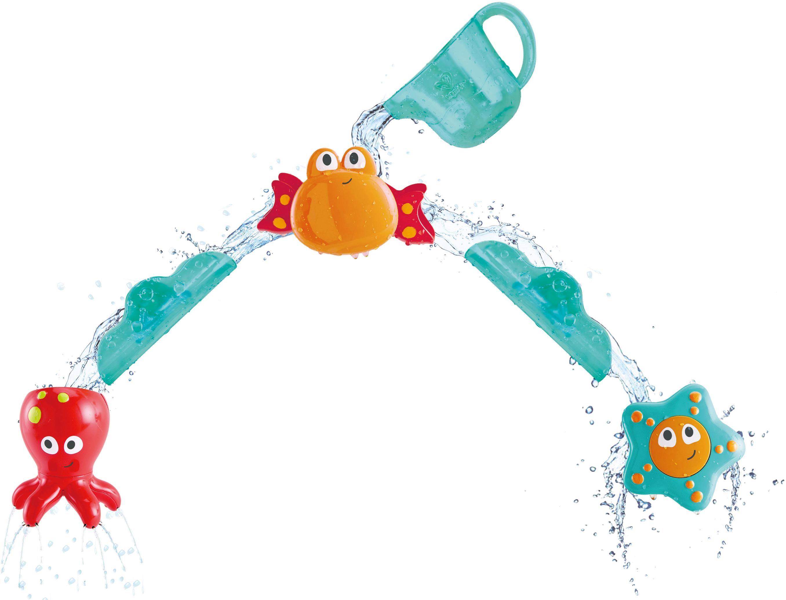 Hape Badespielzeug Wasser Freunde bunt Kinder Wasserspielzeug Outdoor-Spielzeug