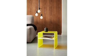 Places of Style Beistelltisch »Remus«, fluoreszierendes Acrylglas kaufen