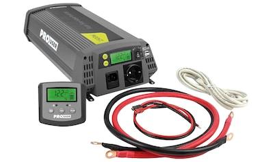 PROUSER Spannungswandler »Sinus PSI1500TX«, 12 V/DC - 230 V/AC, 1500 W kaufen