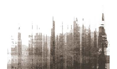 Architects Paper Fototapete »Atelier 47 Skyline Artwork 3«, Stadt kaufen