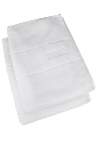 Hugo Boss Home Handtuch »PLAIN 2-tlg.«, (2 St.), 100 x 50 cm kaufen