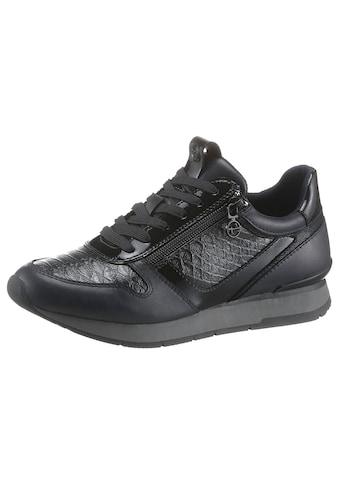 Tamaris Sneaker »DAKI«, mit Reptilprägung kaufen