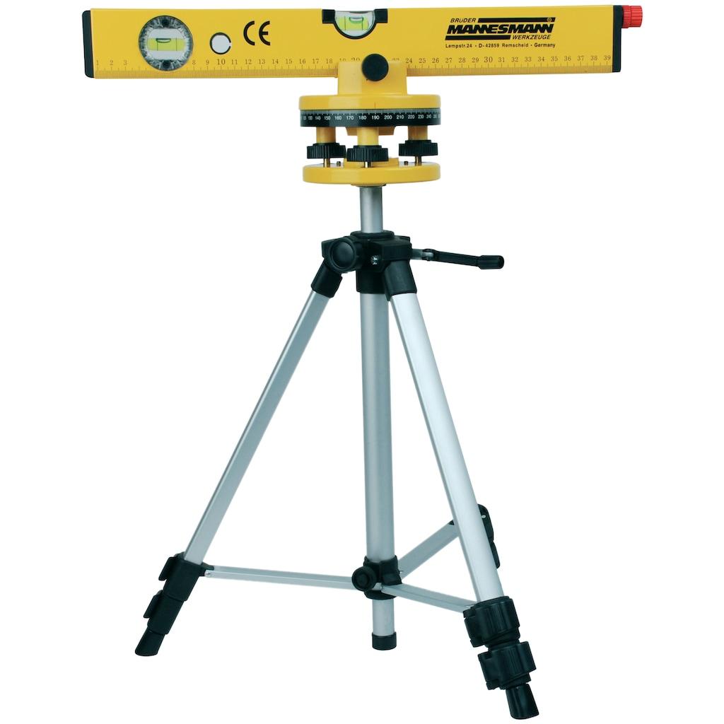 Brüder Mannesmann Werkzeuge Laser-Wasserwaage