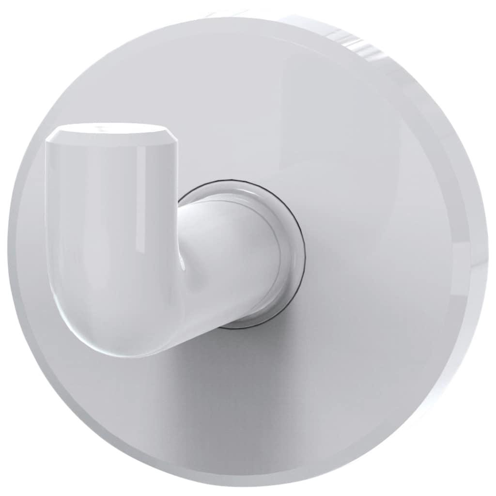 ERLAU Handtuchhaken »Haken HAK-LD, stabiler Kunststoff«, Aus hochwertigem Kunststoff