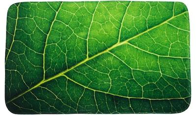 Sanilo Badematte »Blatt«, Höhe 15 mm, schnell trocknend, Memory Schaum kaufen