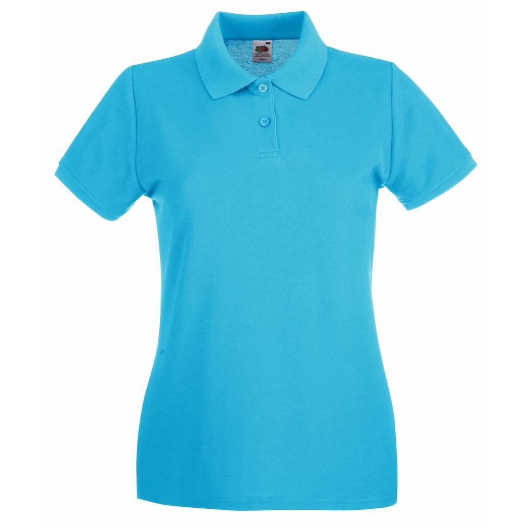 Fruit of the Loom Poloshirt »Damen Lady-Fit Premium«