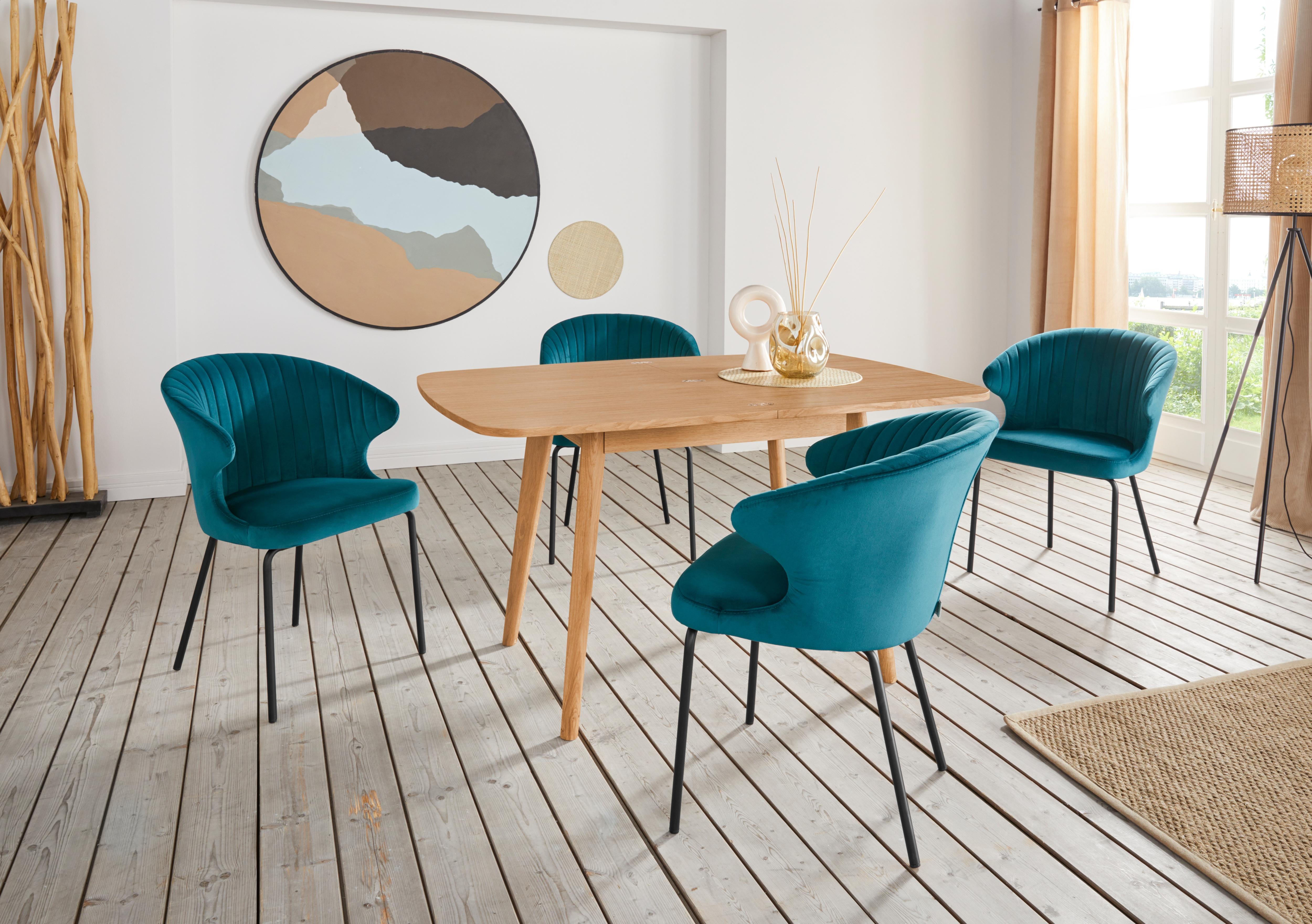 andas Esstisch Nigel beige Holz-Esstische Holztische Tische