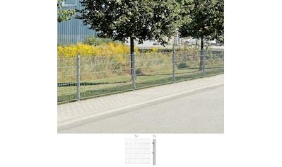 GAH Alberts Doppelstabmattenzaun, Anbauset 100 cm hoch, 1 Matte 2 m, 1 Pfosten kaufen
