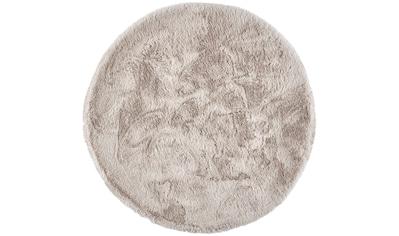 Dekowe Hochflor-Teppich »Roger Deluxe«, rund, 33 mm Höhe, Kunstfell,... kaufen