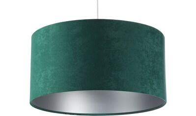 Jens Stolte Leuchten Pendelleuchte »Karin«, E27, 2 St., Textilpendel, 40cm Ø, grün,... kaufen