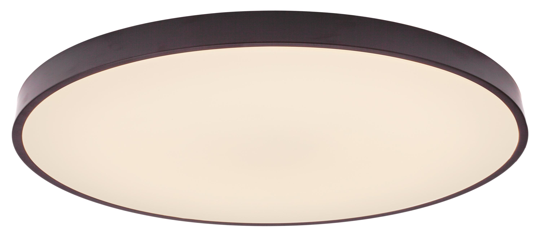 Brilliant Leuchten Slimline LED Deckenleuchte 78cm weiß/schwarz