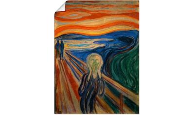 Artland Wandbild »Der Schrei. 1893« kaufen