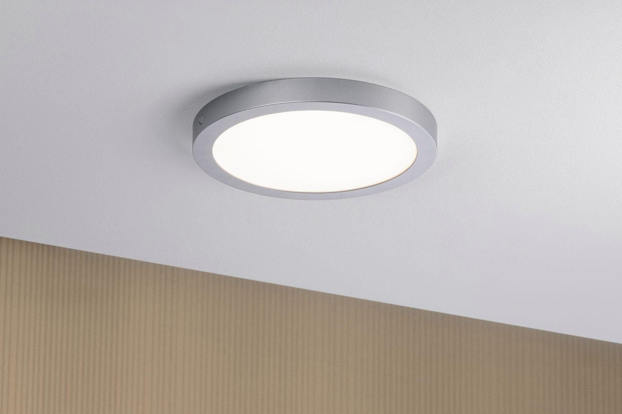 Paulmann,LED Deckenleuchte Abia LED-Panel 300mm 22W Chrom matt Kunststoff