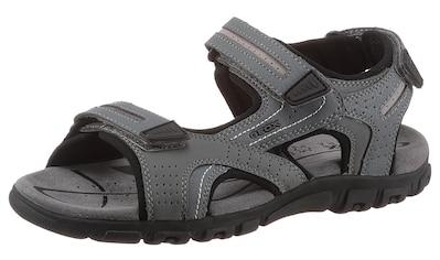 Geox Sandale »UOMO SANDAL STRADA«, mit drei Klettverschlüssen kaufen