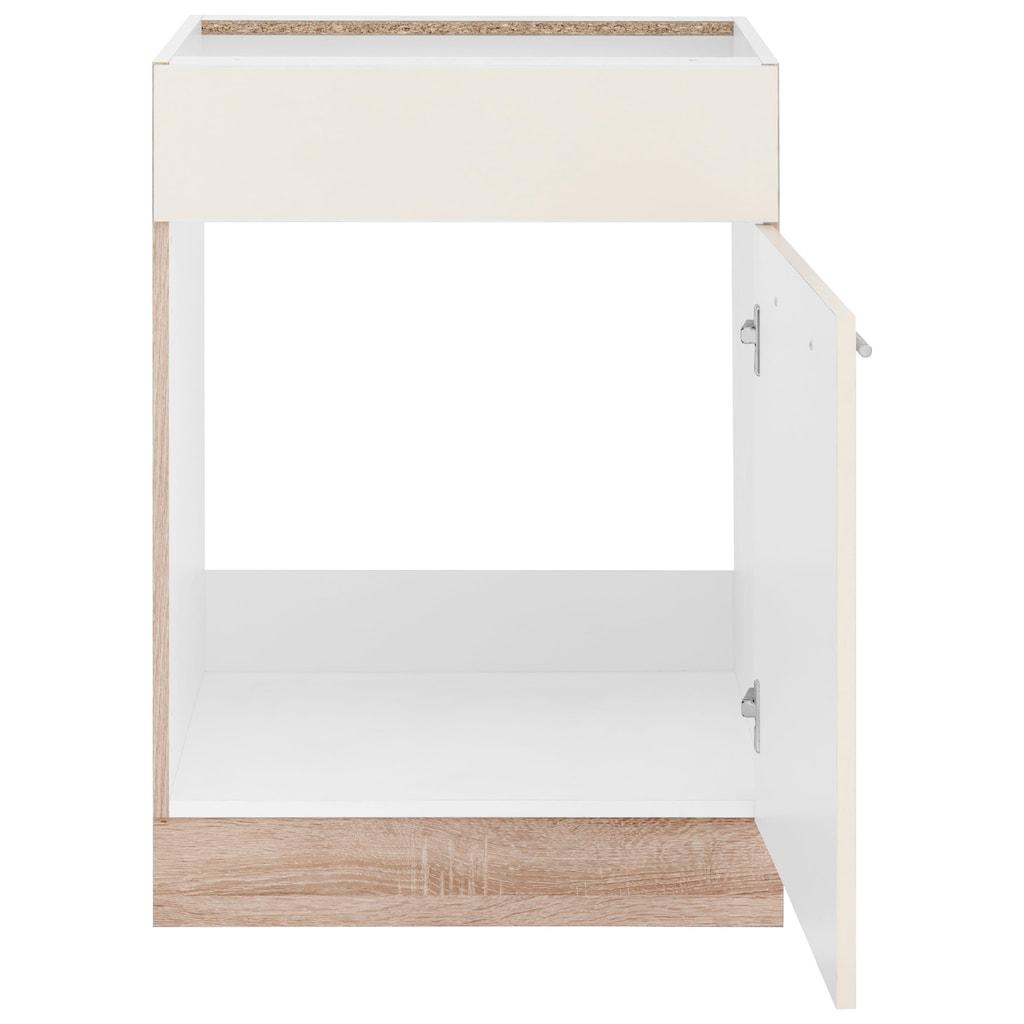 wiho Küchen Spülenschrank »Flexi2«, Breite 60 cm