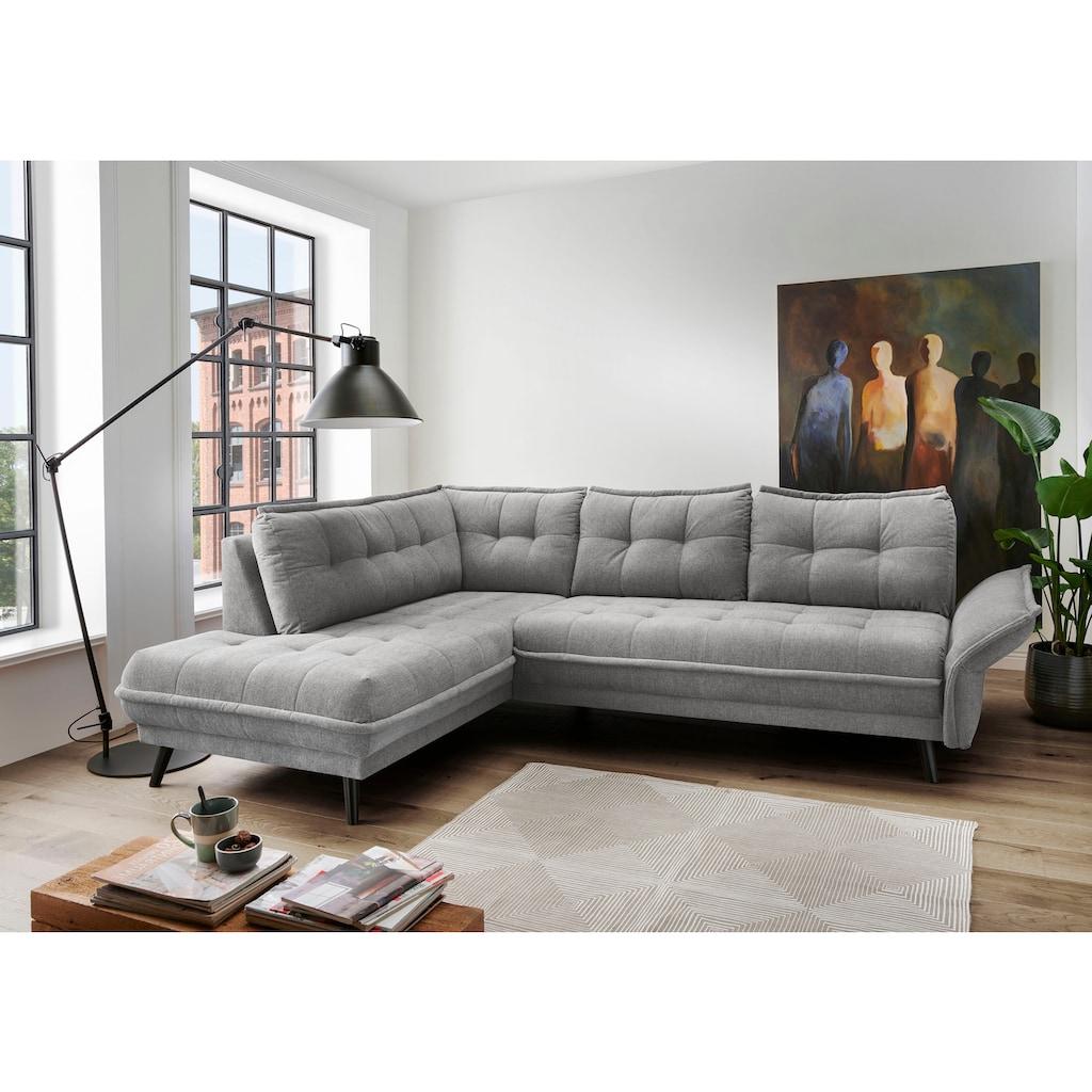 Places of Style Polsterecke »Jonah«, mit komfortabler Armlehn-Verstellung