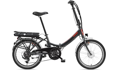 Telefunken E - Bike »Kompakt F810«, 7 Gang Shimano Shimano Tourney Schaltwerk, Kettenschaltung, Frontmotor 250 W kaufen