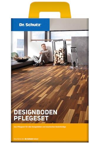 Reinigungs - Set »Dr. Schutz Designboden Pflegeset«, PU - Reiniger und Vollpflege matt kaufen